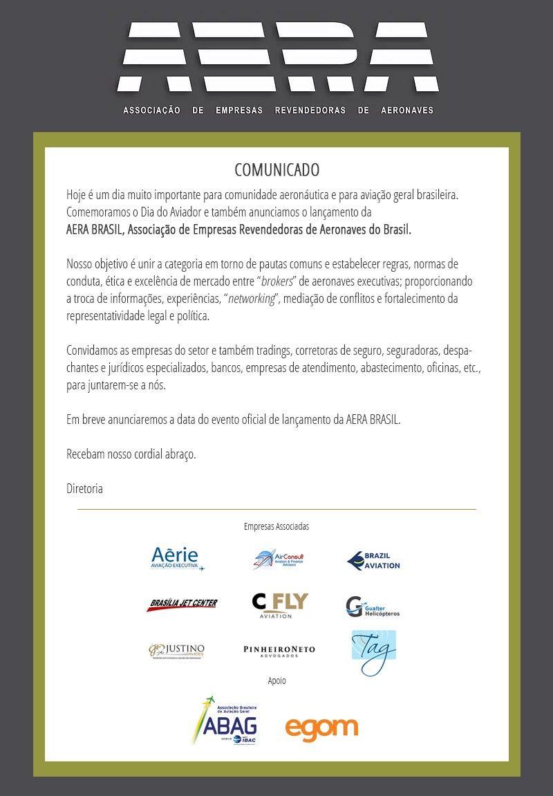 AERA_Comunicado_Lançamento