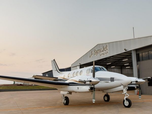 KING AIR C90B 2005 – O mais novo do Brasil