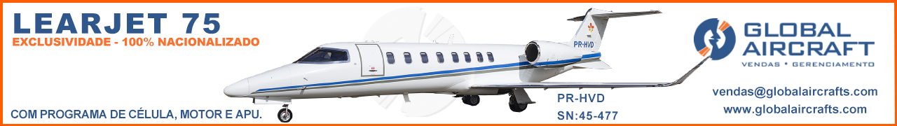 Banner Learjet 75 Global 1280×180 exclusivo