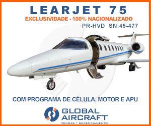 Banner Learjet 75 Global 300×250