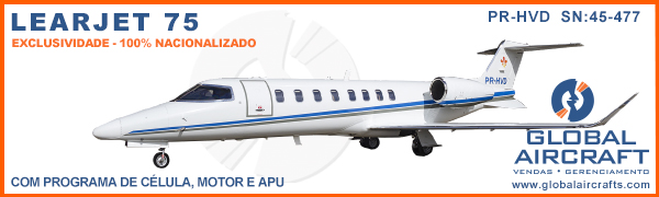Banner Learjet 75 Global 600×180